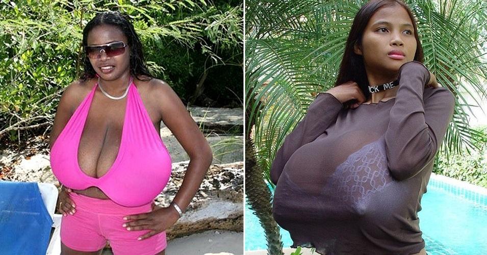самая большая и красивая грудь в мире