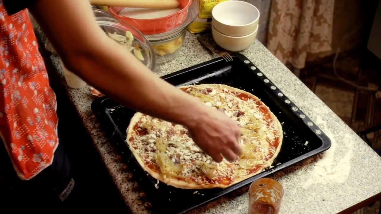 Как вкусно приготовить пиццу в домашних условиях с пошагово простые