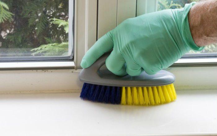 Чем отмыть подоконник пластикового окна в домашних условиях